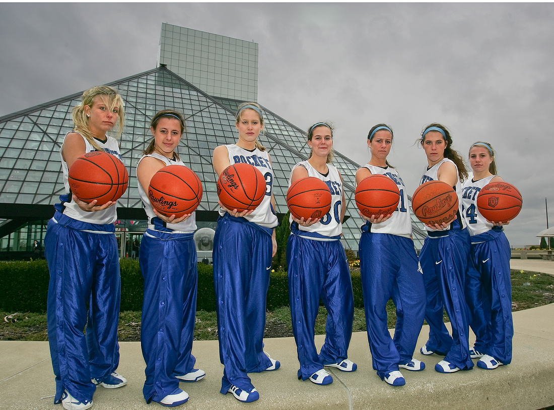 Girls basketball team picture ideas